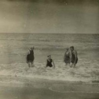 Casper J. Jacoby, Sr. and Family at Beach