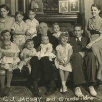Casper J. Jacoby, Sr. and Grandchildren