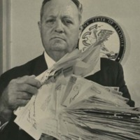 John W. Lewis, Jr. Holds Letters