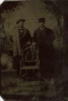 Two Men in Coats
