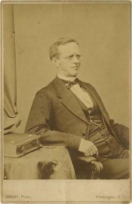 Lyman Trumbull at Table