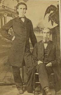 Benjamin Grierson and Unidentified Man
