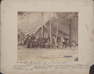 Headquarters of the Army of the Potomac, General Grant and Staff