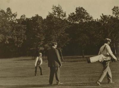 Joseph Cannon Playing Golf