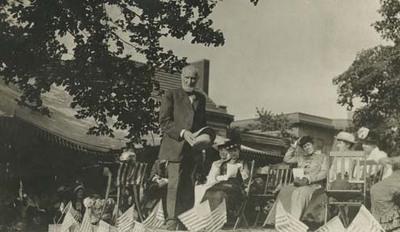 Joseph Cannon at Dedication Event