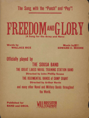 Freedom and Glory: A Song for the Army and Navy