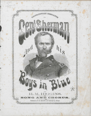 General Sherman and His Boys in Blue
