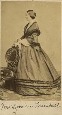 Julia Maria Jayne Trumbull with Chair