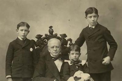 Lyman Trumbull, Walter Trumbull, Perry Trumbull, and Henry Trumbull