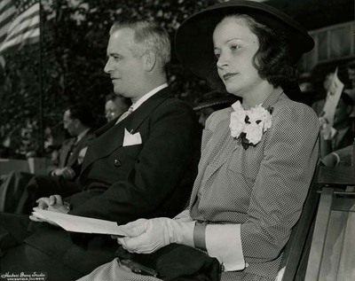 Dwight H. Green and Mabel Kingston Attend Event