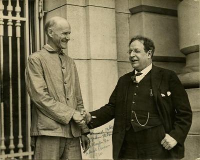 Eugene V. Debs and Seymour Stedman, Atlanta, Ga., Federal Prison