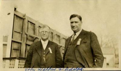 John Walker and Adolph Germer