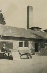 Crematorium at Dachau Concentration Camp