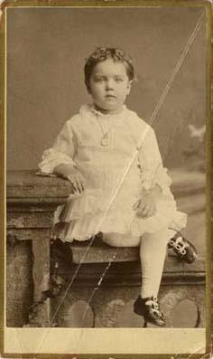 Young Florence Fifer Bohrer