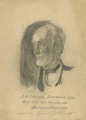 Joseph Cannon Drawing
