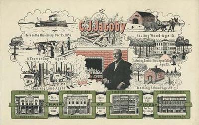 Casper J. Jacoby, Sr. Advertisement