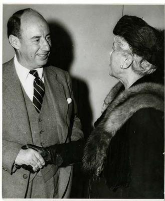 Florence Fifer Bohrer and Adlai Stevenson II