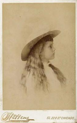 Alma Trumbull in Profile