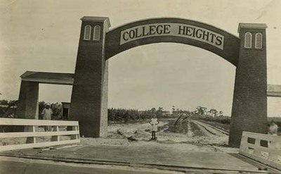 College Heights Entrance