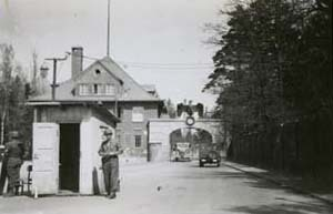 Entrance to Dachau Concentration Camp
