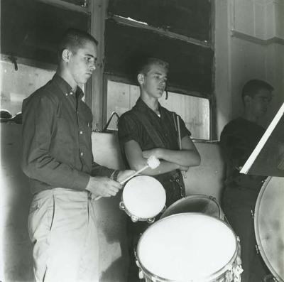 Fairfield High School Band Drummers