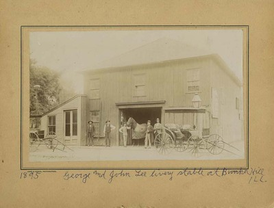 Livery Stable in Bunker Hill
