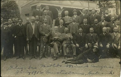 Delegates to Worlds Miners' Congress, Amsterdam, Holland