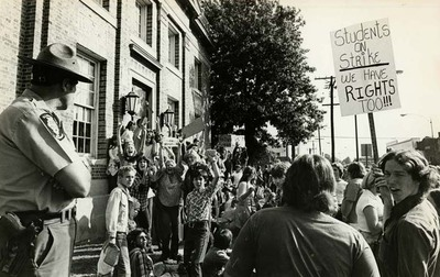 Student Strike of 1978 in Collinsville
