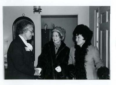 Adeline Geo-Karis with Two Women