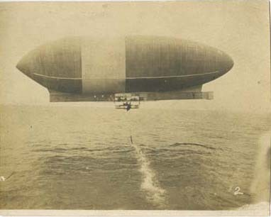 Airship America Over Water