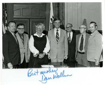 Adeline Geo-Karis, Daniel Walker, and Unidentified Men